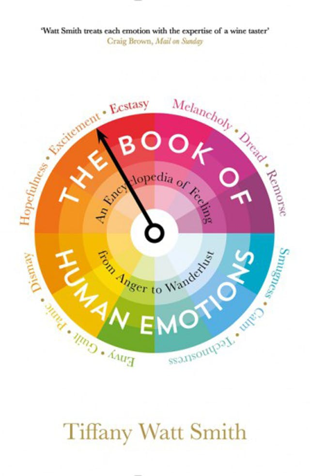 Book cover of The Book of Human Emotions by Tiffany Watt Smith