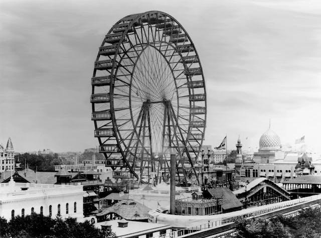 Ferris wheel at the Chicago World