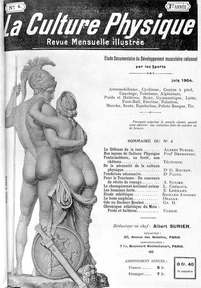 La Culture Physique, Juin 1904
