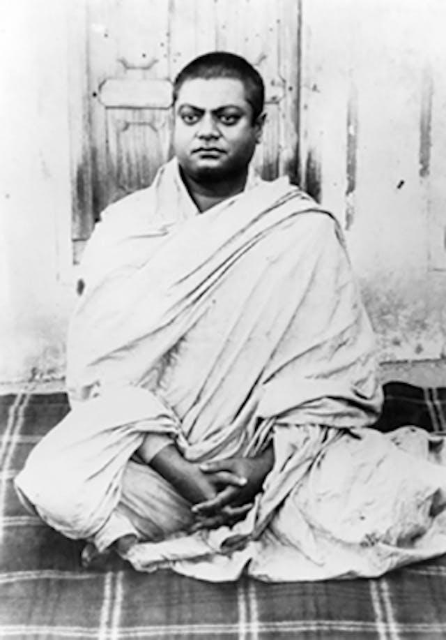 Swami Vivekananda at Belur Math 1899