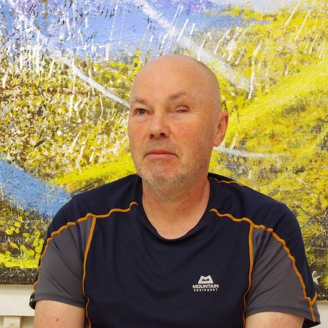 Photograph of Keith Salmon