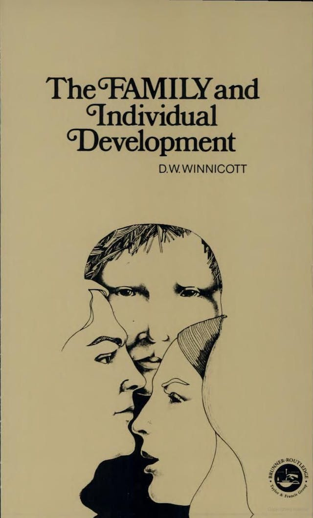A book cover featuring three faces.