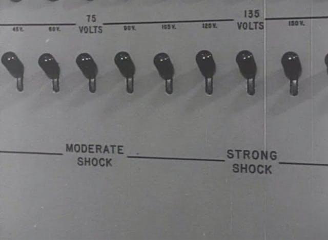 A set of controls reading