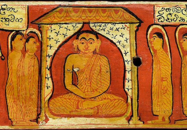 Sinhalese manuscript of the Bodhisatta