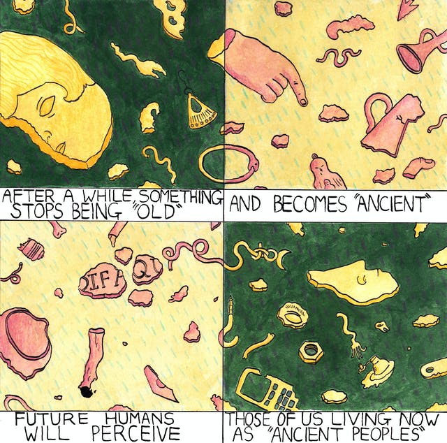 Ancient comic by Rob Bidder