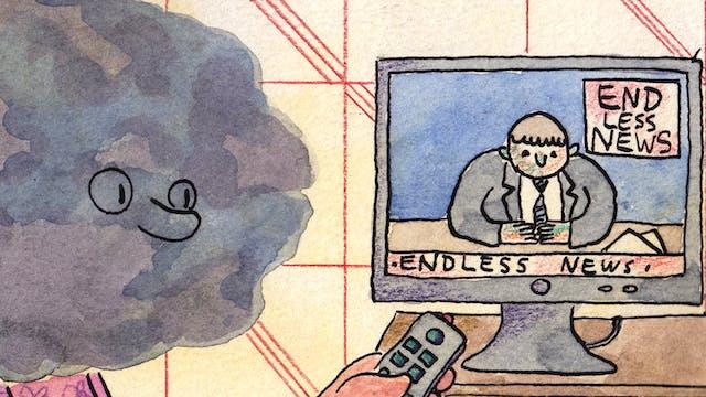 Worries comic by Rob Bidder (detail)