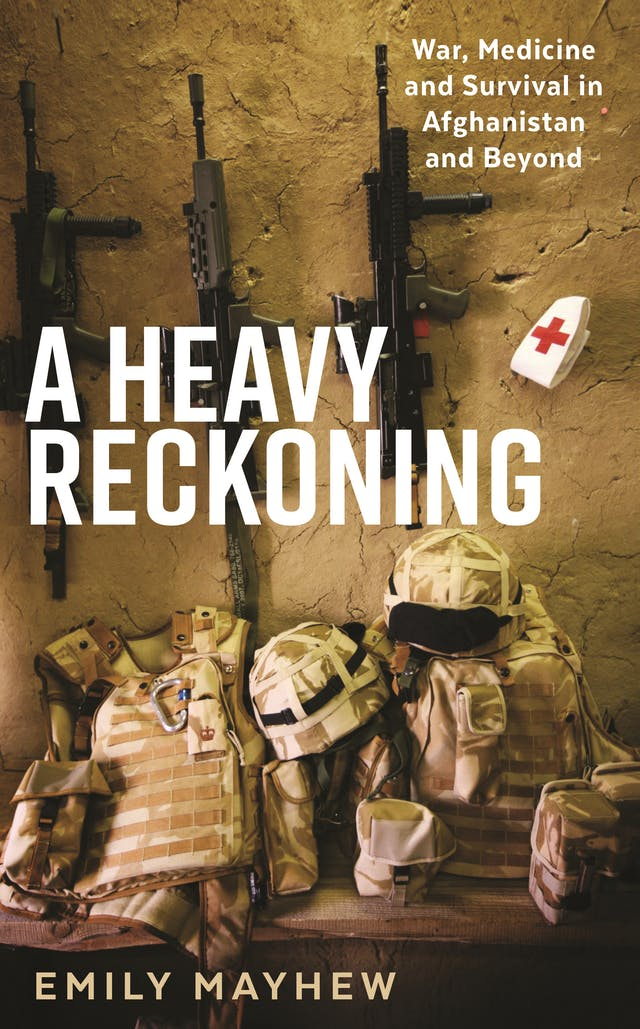 Book cover of A Heavy Reckoning by Emily Mayhew