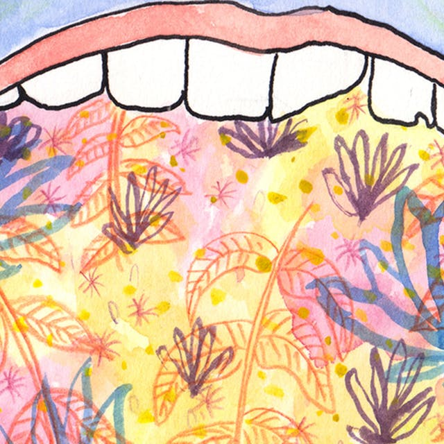 Mouth webcomic by Rob Bidder (detail)
