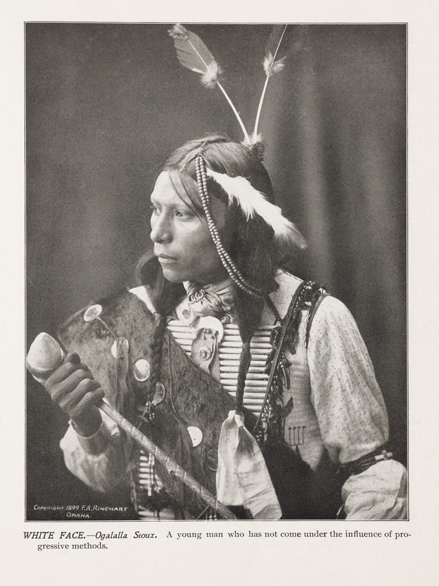 White Face of the Oglala Sioux