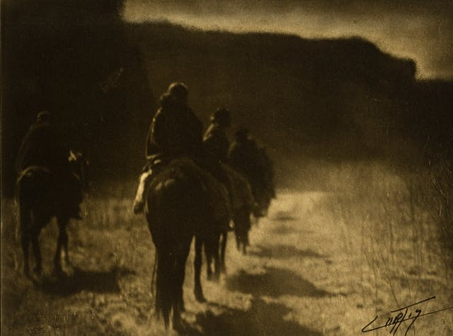 The Vanishing Race (Navajo)