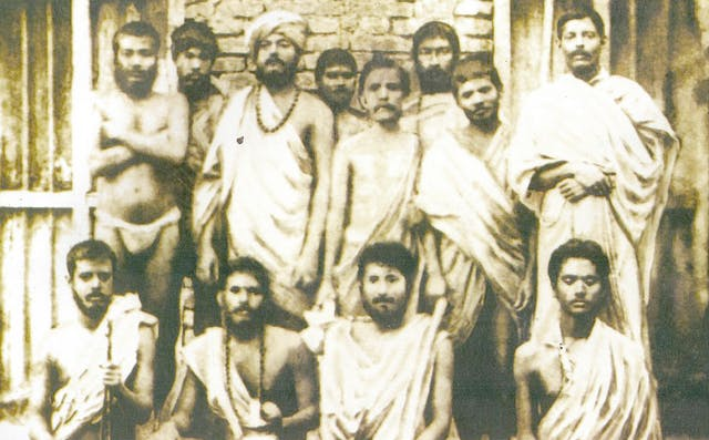 Vivekananda and other Monks at Baranagar Math, 1887