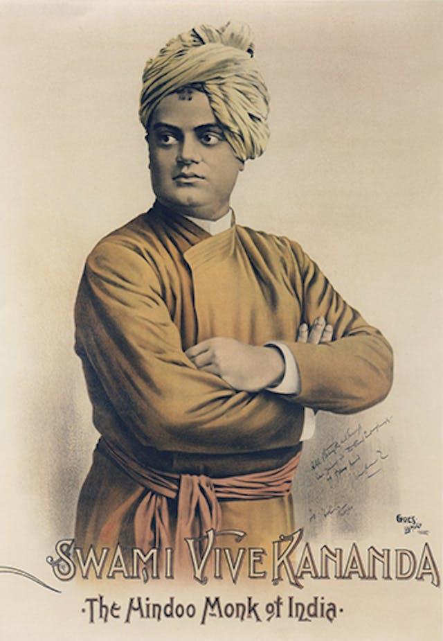 Poster of Swami Vivekananda, 1893