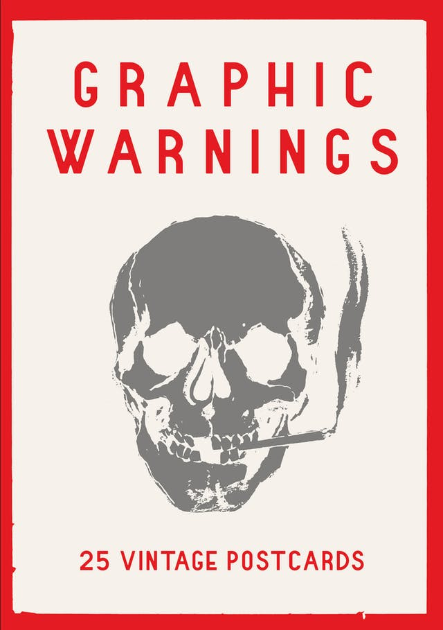 Book cover of Graphic Warnings by