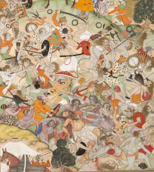 Battle of the Sannyasis, c1590