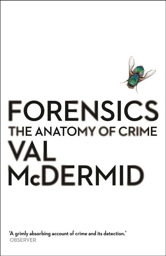 Book cover of Forensics by Val McDermid