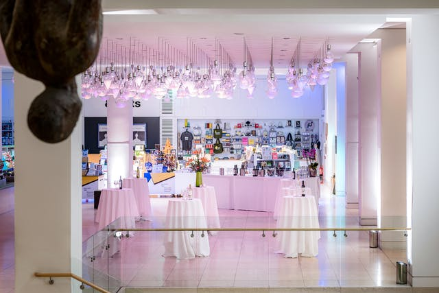 Photograph of the Atrium at Wellcome Collection.