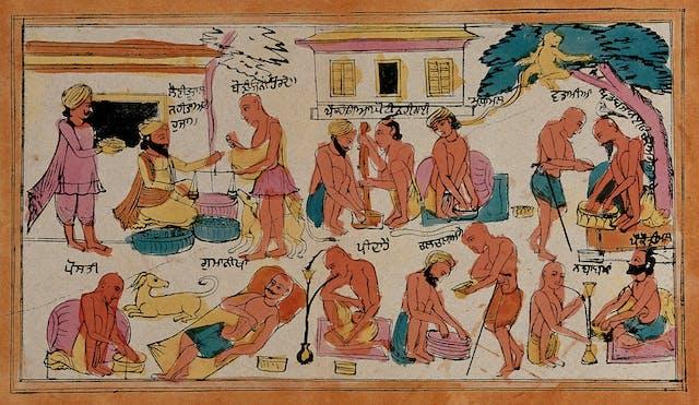 Sikh ascetics