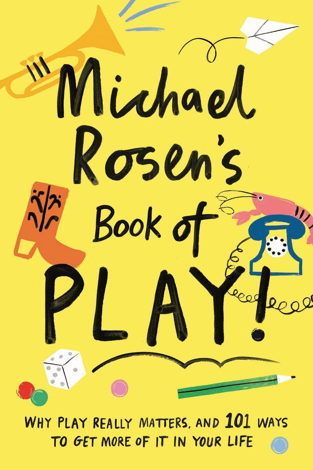 "Front cover of a book, text reads ""Michael Rosen"