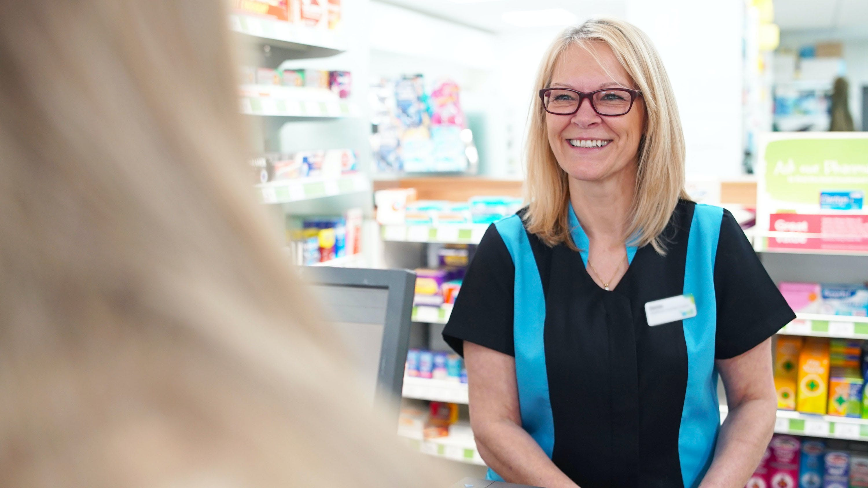 Denise, a Pharmacy Assistant