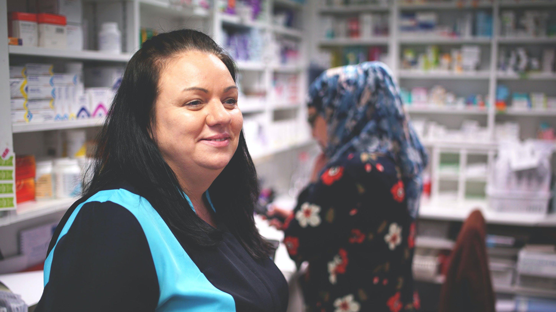 Marika, a Well Pharmacy Technician.