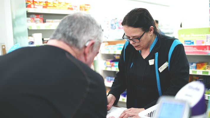 Helen, a Pharmacy Assistant
