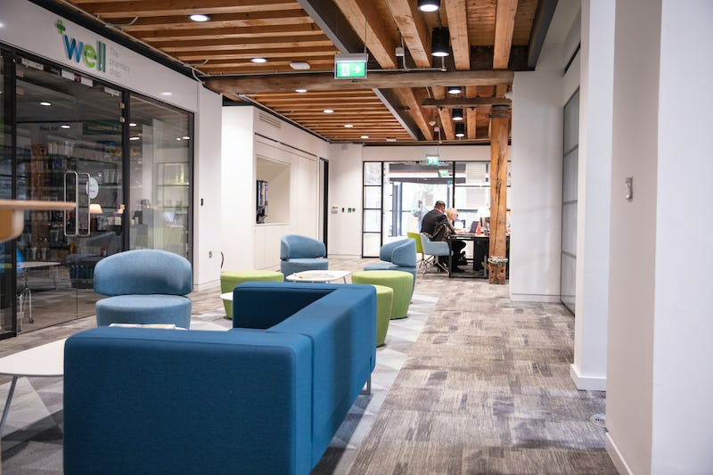 Work spaces at Well Head Office