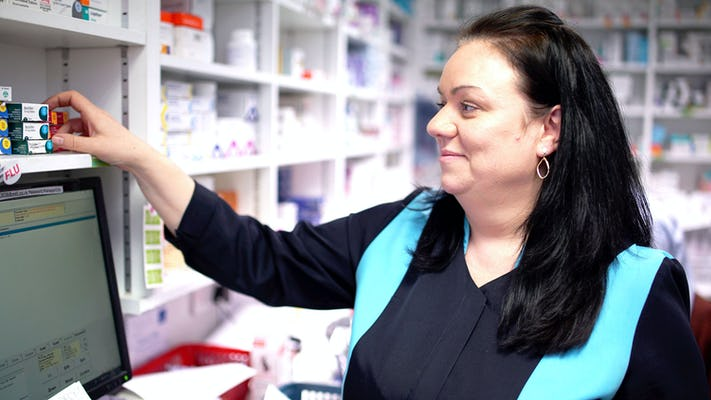 Marika, a Well Pharmacy Technician