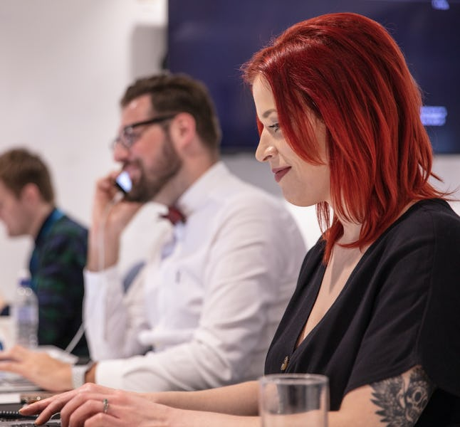 Members of well.co.uk's Customer Service Operations team