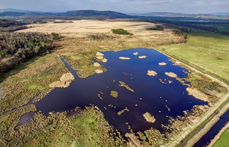 South Lakeland Nature Reserve Aerial View