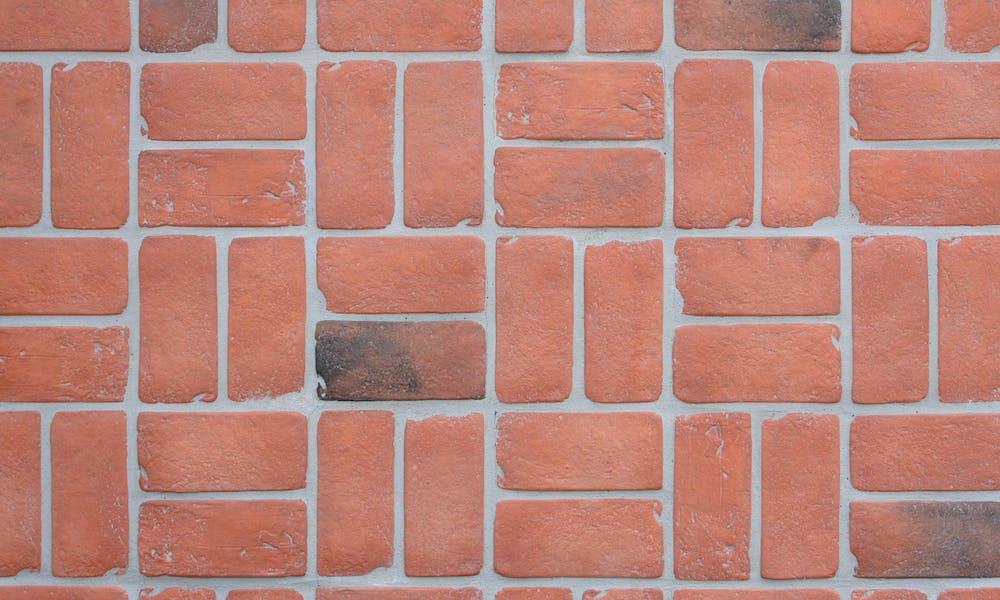 Brick Veneer Paving - Rustic - 050