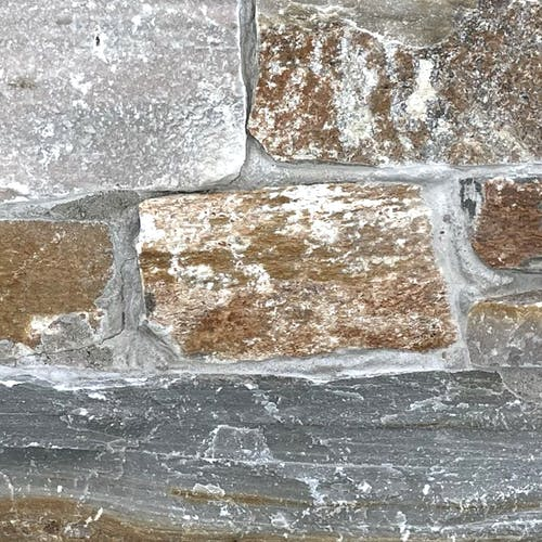 Champagne Quartz - real stone panel