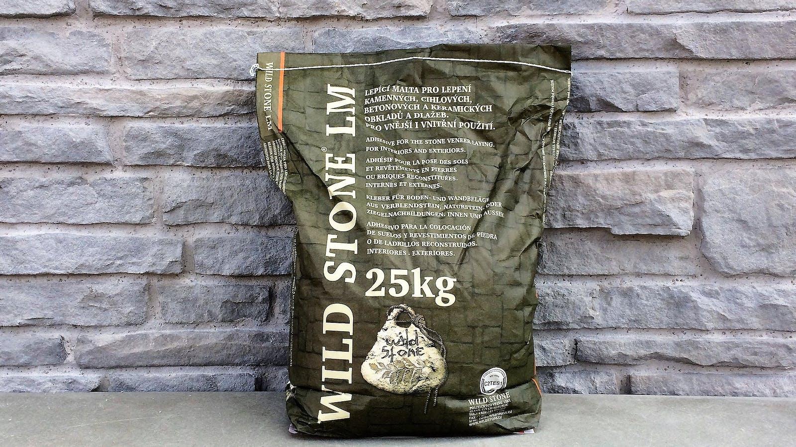 Wild Stone LM Interior and Exterior Stone Veneer and Brick Slip Adhesive