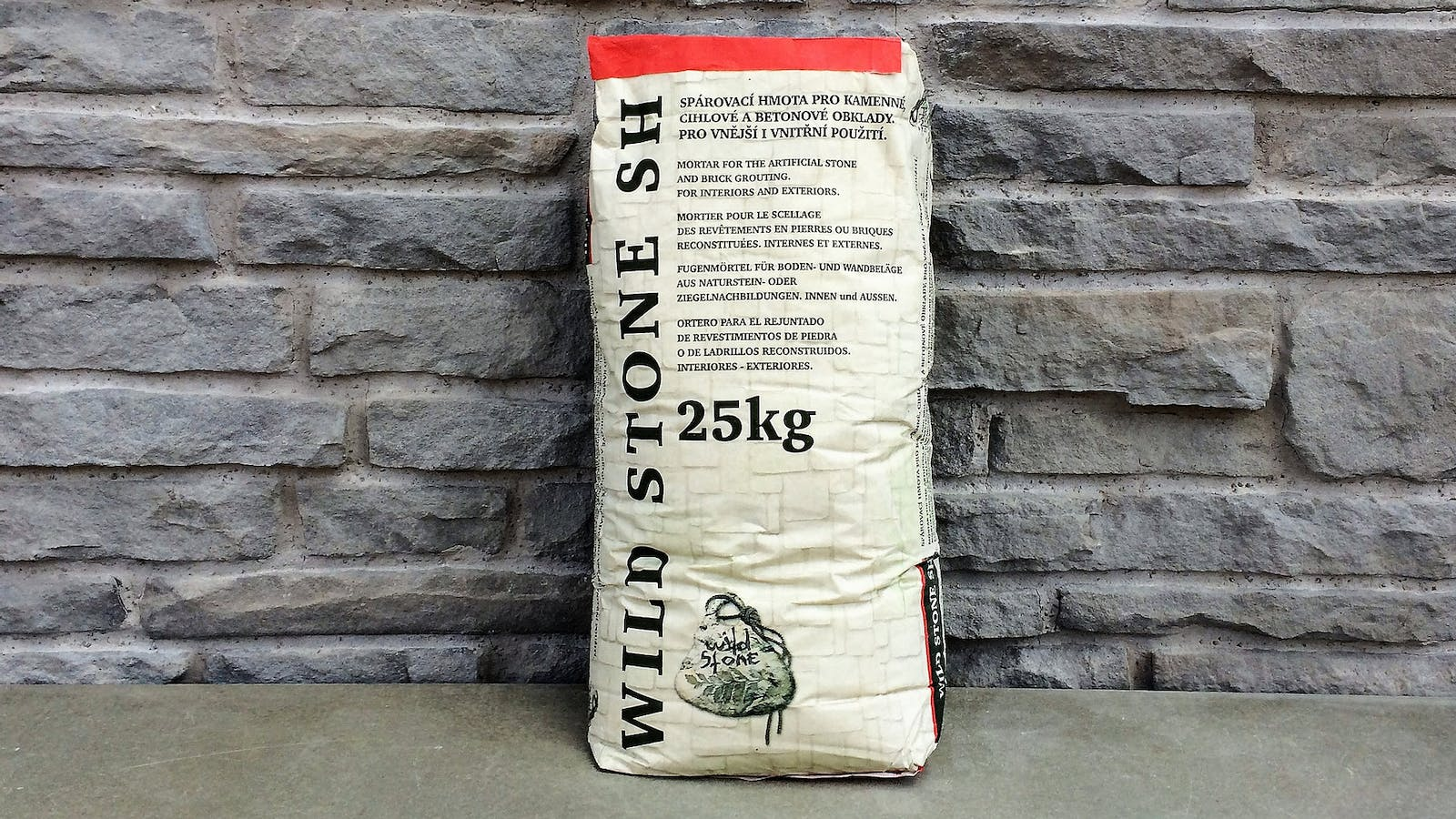 Wild Stone SH Mortar and Grout for interior or exterior use
