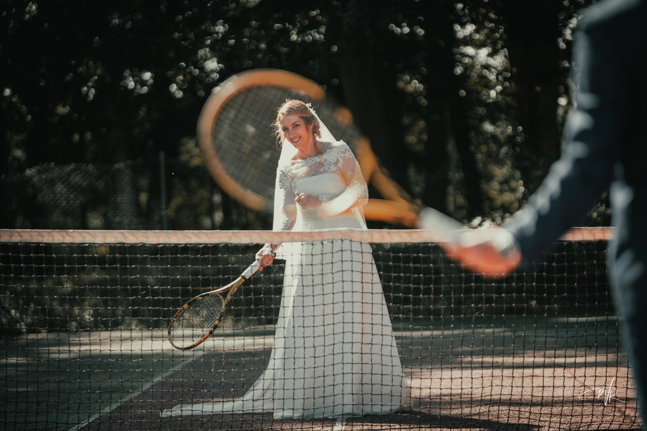 Mariage Tennis 1