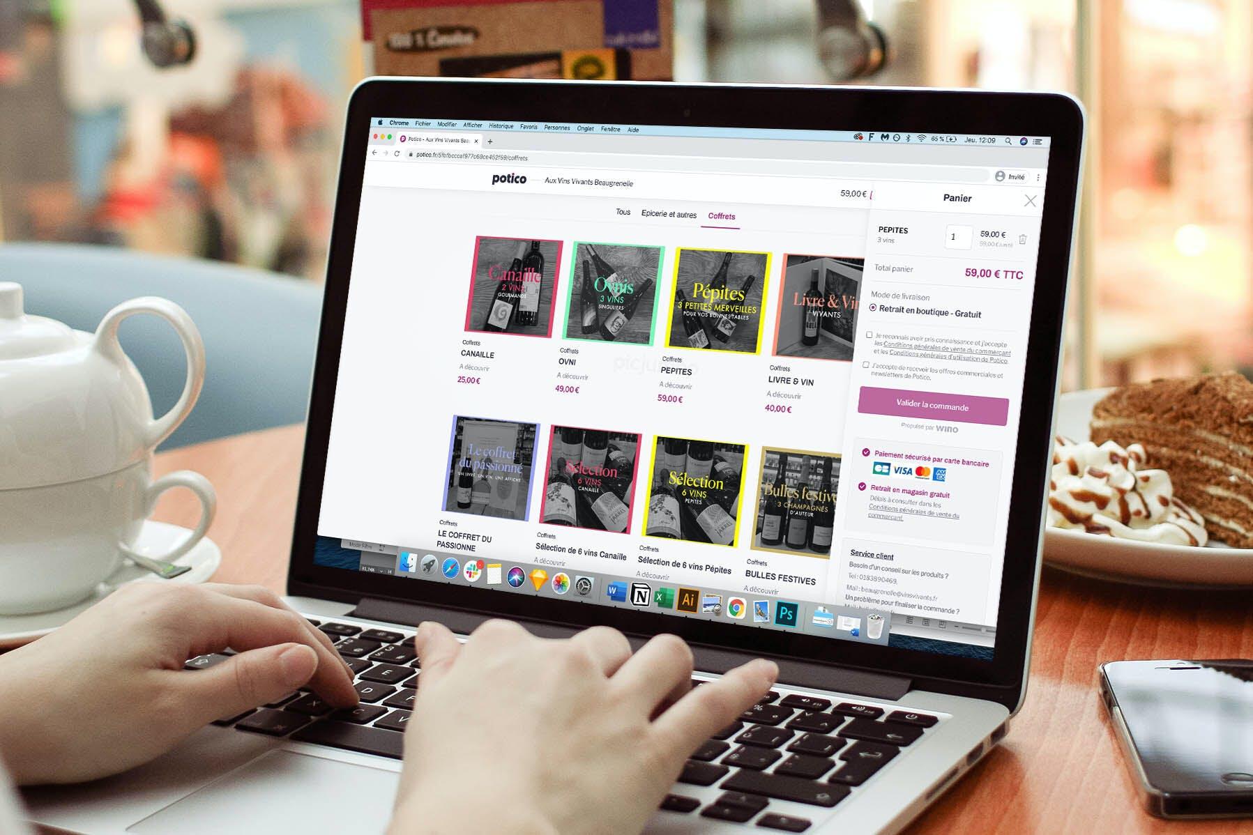 Potico : la plateforme e-commerce des commerçants de proximité