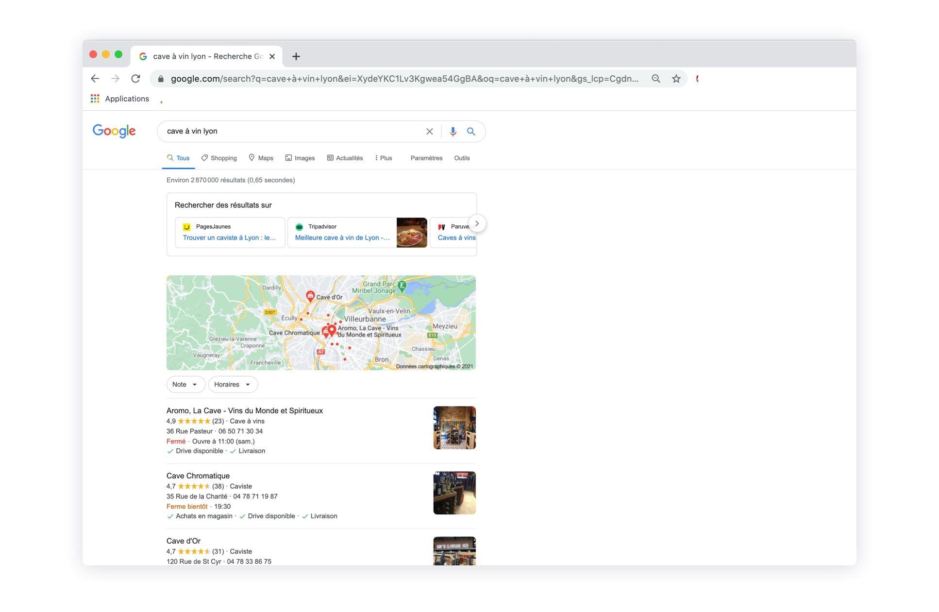 Google My Business : Vitrine en ligne pour les commerçants