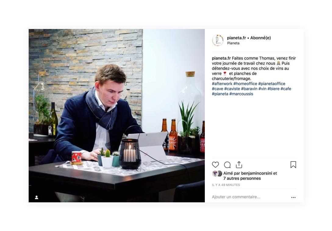 Mise en avant de vos clients sur Instagram pour créer de la proximité.
