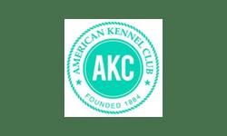 The American Kennel Club (AKC) logo