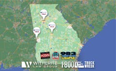 Witherite Law Group/1-800-TruckWreck Expands Service in Georgia to Columbus and Macon