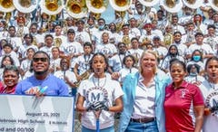 Witherite Law Group and 1-800-TruckWreck Award Three Atlanta High School Band Programs $10,000  Each.