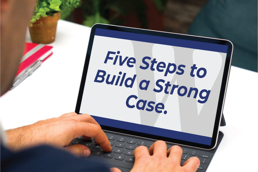 Five Steps to Build a Strong Car or Truck Accident Case