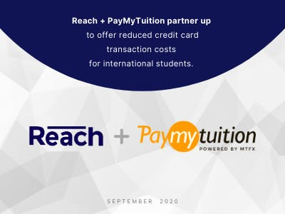 Reach and PayMyTuition Announce Partnership