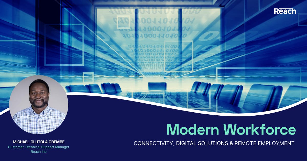 Modern Workforce: Connectivity, Digital Solutions & Remote Employment