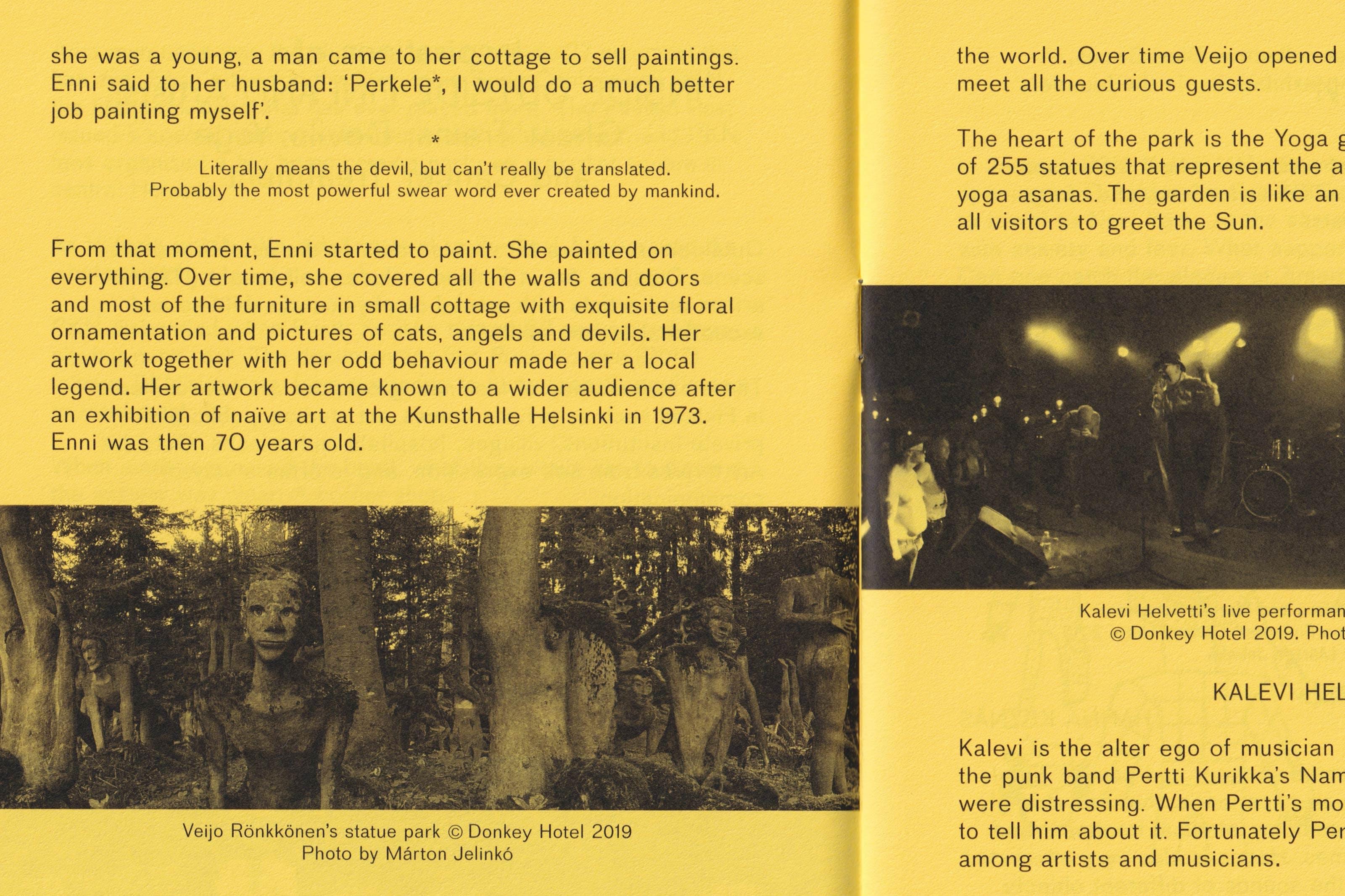 wolfe hall, finnish institute, finnish institute in london, Pertin Valinta, Pertti Kurikka's Name Day, punk, london plague, graphic design