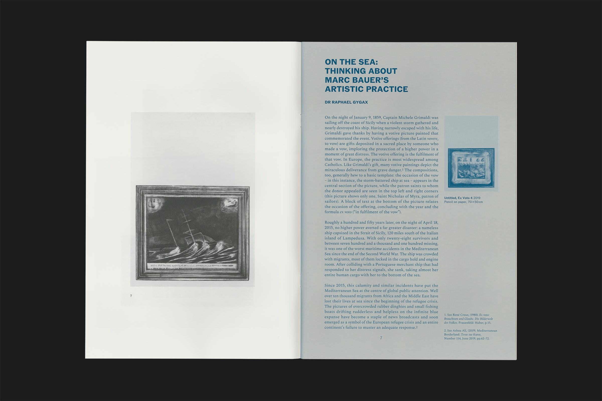 Drawing Room, London, Marc Bauer, Mal-Être/Performance, Publication, Graphic Design by Wolfe Hall