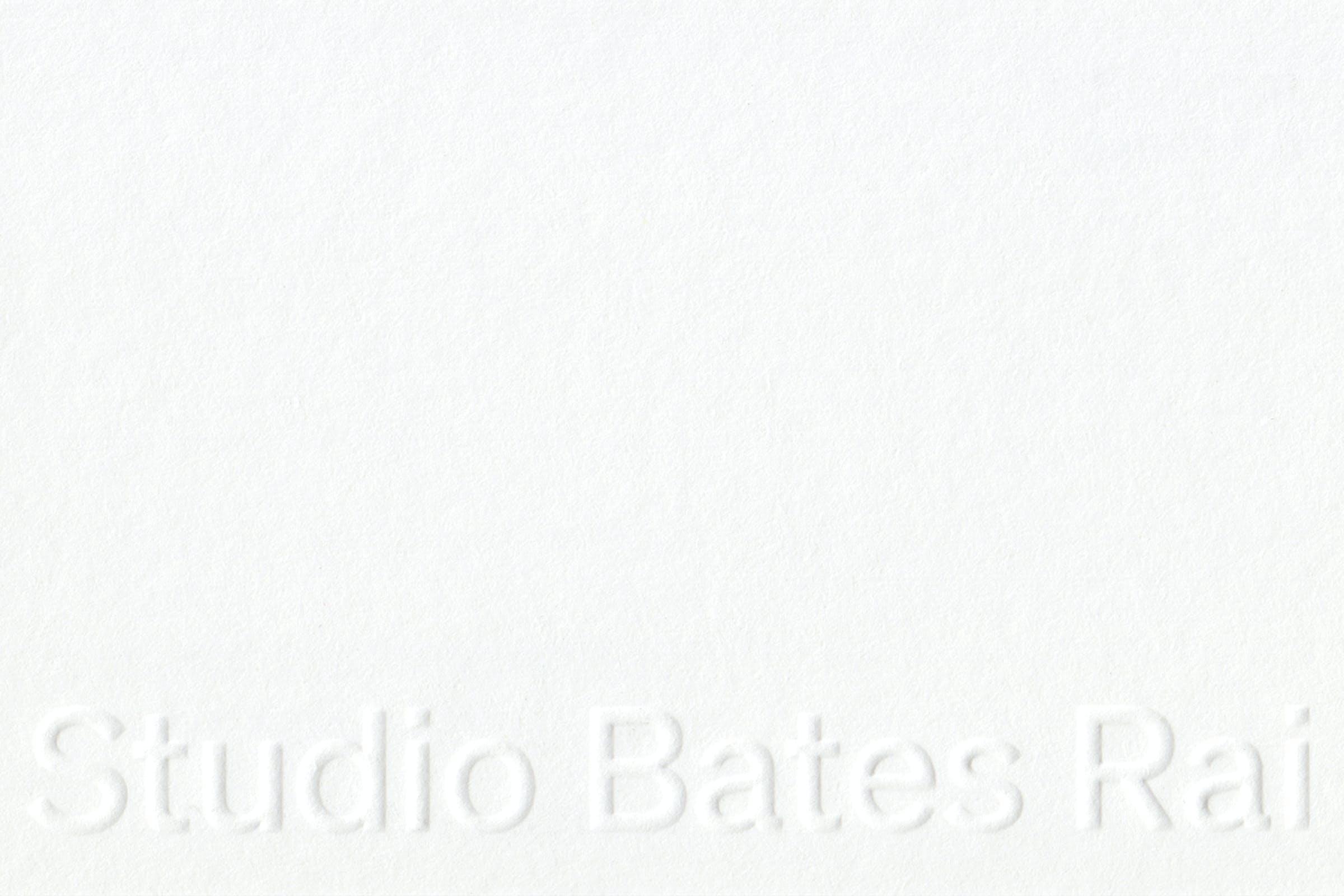 Studio Bates Rai, identity, Graphic Design by Wolfe Hall
