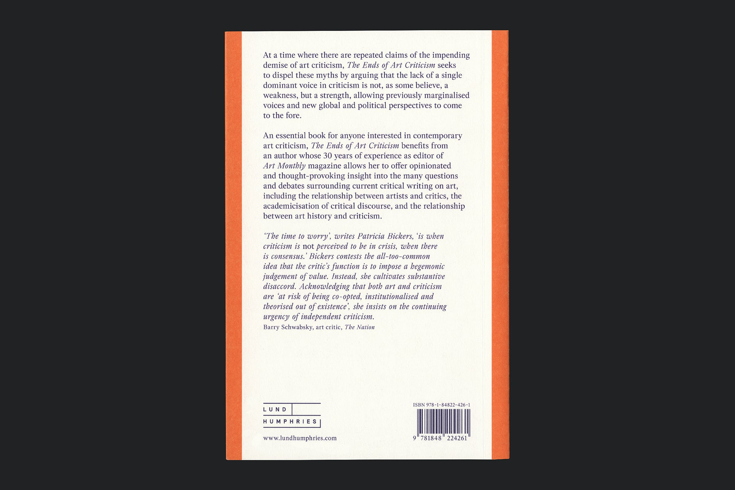 New Directions in Contemporary Art, Lund Humphries, Publication, Graphic Design by Wolfe Hall