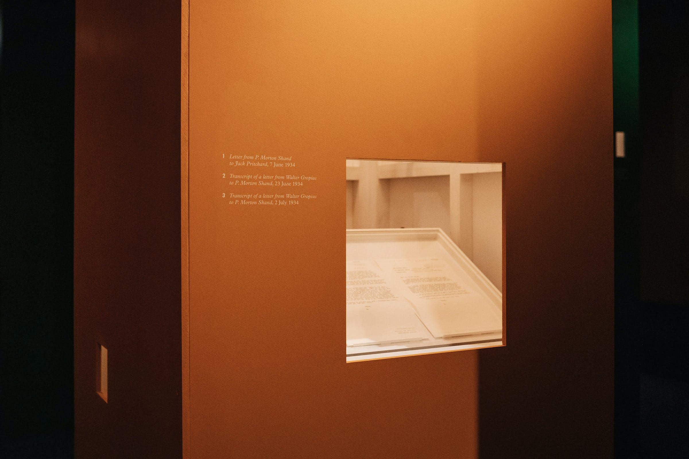 RIBA, Beyond Bauhaus: Modernism in Britain 1933–66, Exhibition, Graphic Design by Wolfe Hall