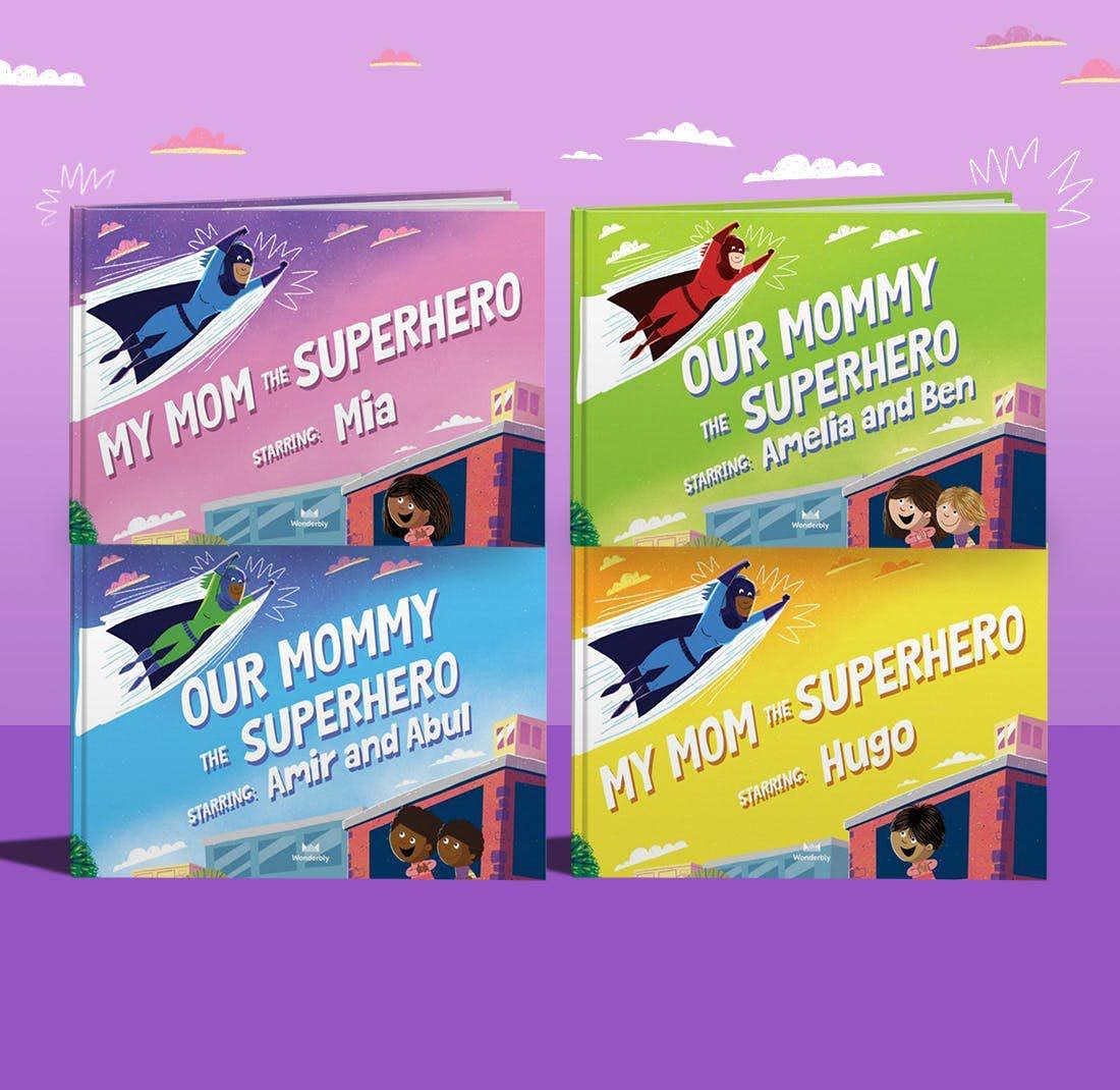 Our Mom The Superhero Cover Options