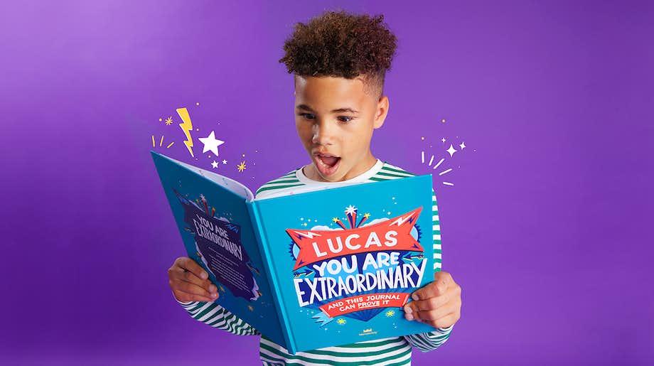 You Are Extraordinary_Boy open book